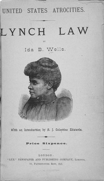 a biography of ida b wells involving black american history The anti-lynching pamphlets of ida b wells,  were stringently policed and those involving black women  african american women's history by scholars.